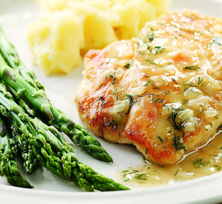 LAP-BAND Recipe | Lemon & Dill Chicken.