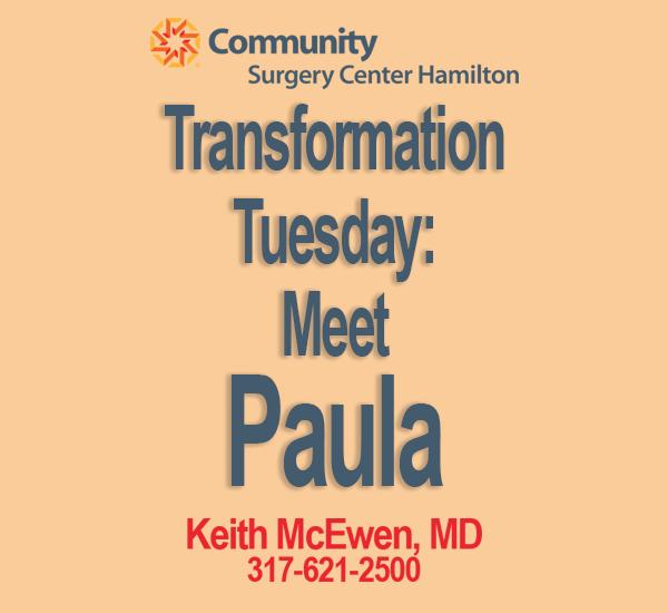 Transformation Tuesday: Paula