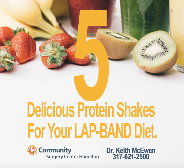 5 Delicious Protein Shake Recipes For YourLAP-BAND.