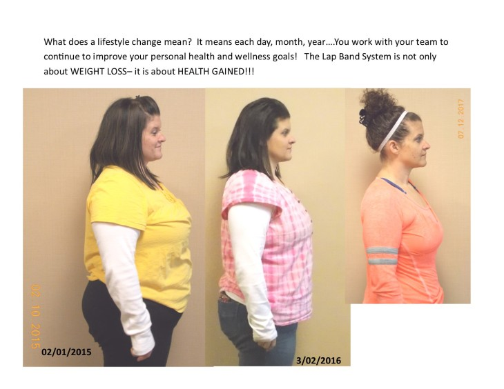 Weight loss pictures Brandi
